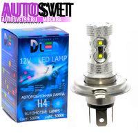 Лампа светодбодная H4 - 10Led CREE 50Вт