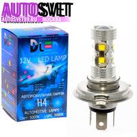 Лампа светодбодная H4 - 10Led Epistar 50Вт