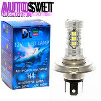 Лампа светодбодная H4 - 16Led CREE 80Вт