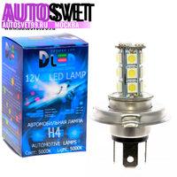 Лампа светодбодная H4 - 18Led SMD5050 4.32Вт